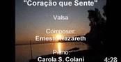 """""""Coração que Sente"""" Walzer von Ernesto Nazareth"""